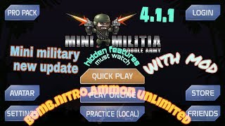 Mini military new update hack unlimited ammo nitro and bomb 2018 by Lost gaming 2
