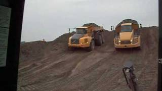 CAT 740 & VOLVO A40E OFF ROAD