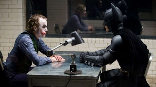 Il Cavaliere Oscuro DOPPIAGGIO - Batman interroga Joker