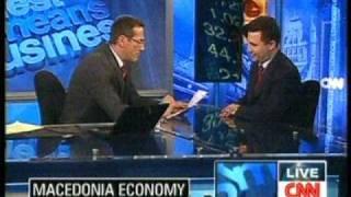 Премиерот Никола Груевски за CNN (18.11.09)