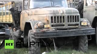 Военная техника возвращается с крымских баз на Украину