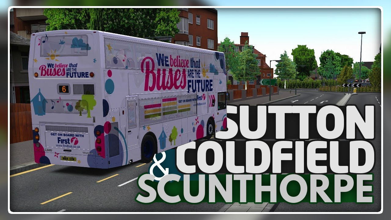 OMSI 2 - Sutton Coldfield & Scunthorpe - YouTube