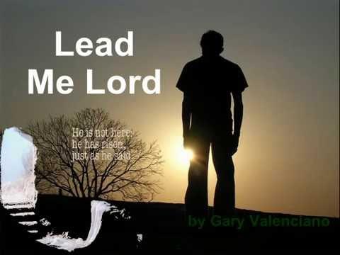 Gary V. - Lead me Lord (Instrumental with lyrics )