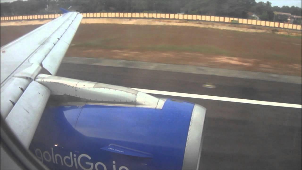 IndiGo 6E316 : Flying from Chennai to Kochi - YouTube