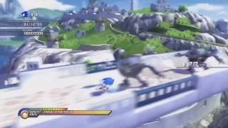 Sonic Unleashed - Day Stage Gameplay (PS3 Version)