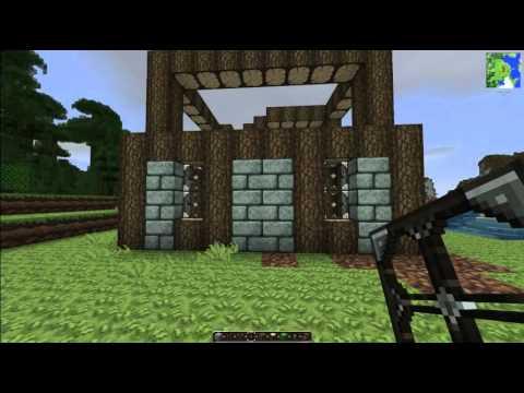 Schnell einfach ein minecraft mittelalter haus bauen for Minecraft haus bauen