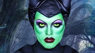 Maleficent - Sleeping Beauty  - Makeup Tutorial! (Disney in Drag Series)
