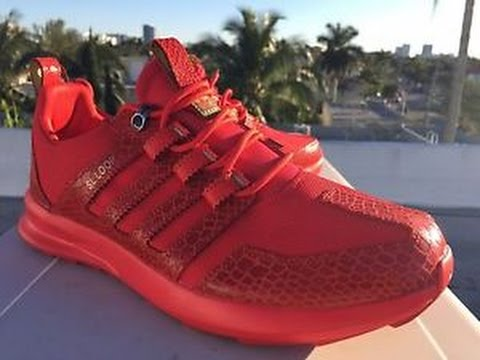 Sl Loop Adidas Red Reptile