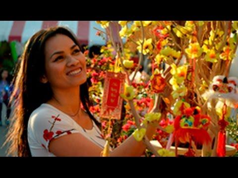 Chợ hoa xuân Phước Lộc Thọ ở Little Saigon