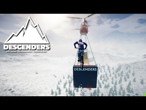 Peaks Boss Level (MASSIVE JUMP) | Descenders Gameplay