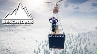 Peaks Boss Level (MASSIVE JUMP)   Descenders Gameplay