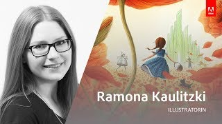 Illustration mit Ramona Kaulitzki - Adobe Live 1/3 thumbnail