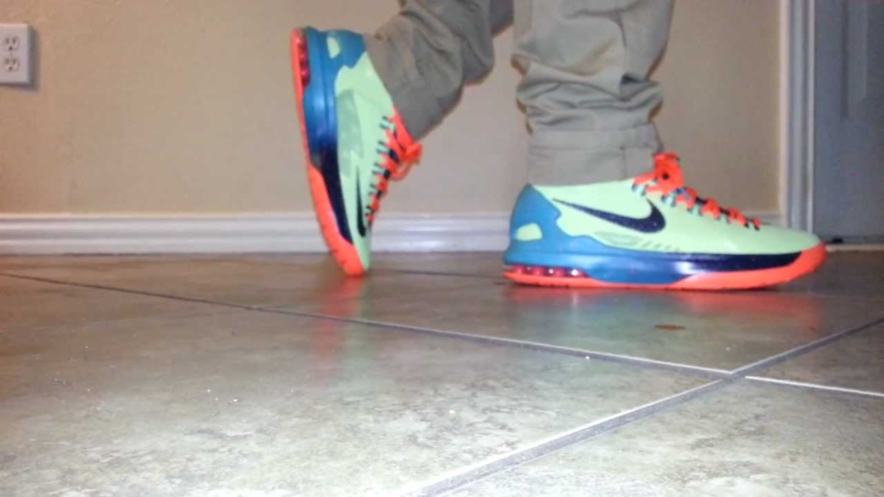 meet 323af 1e47a Nike Kd 5 All star on feet review