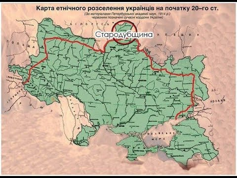 карта 1922 года и Украина