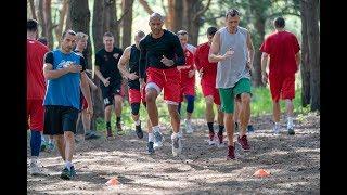СК Прометей баскетбол тренировка в лесу