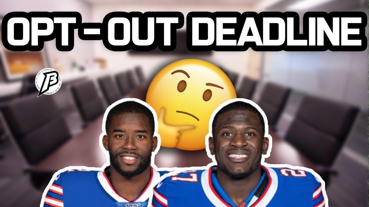 NFL Opt-out Deadline