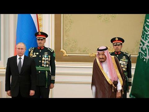 شاهد: مراسم استقبال الرئيس الروسي من قبل العاهل السعودي في الرياض…  - نشر قبل 2 ساعة