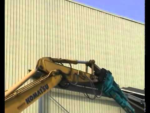 Video Hydraulické multifunkční drtící nůžky VTN série MT