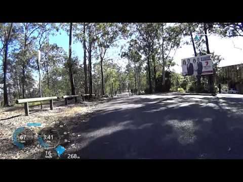 Down the back half of Mt Coot-tha