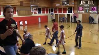 SMS 5th Grade Boys Basketball vs St John Evangelist 2
