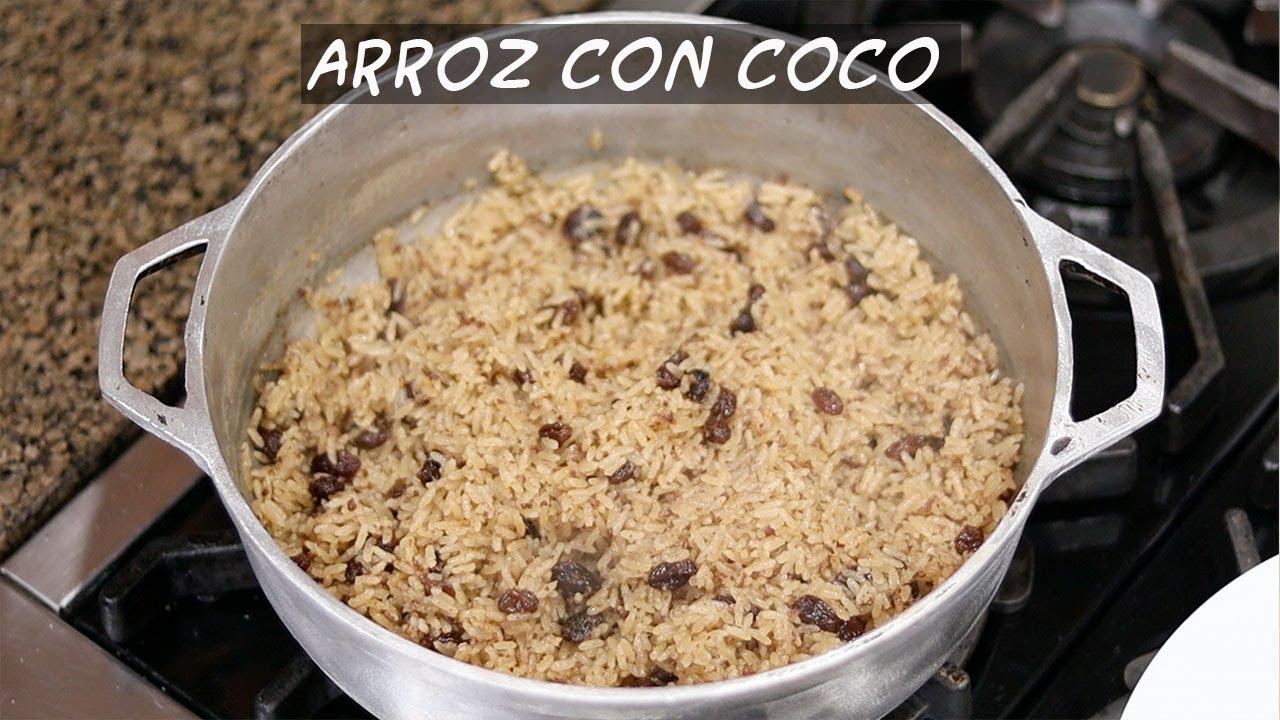 """ARROZ CON COCO 🥥"""" [AL ESTILO COLOMBIANO] 🇨🇴 💯 % NATURAL ..."""