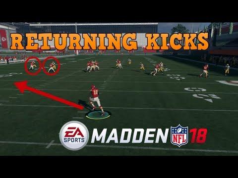 Madden 18: The BEST Way to Return Kicks