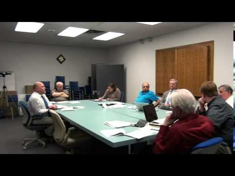 April 13, 2015 Town Board Meeting