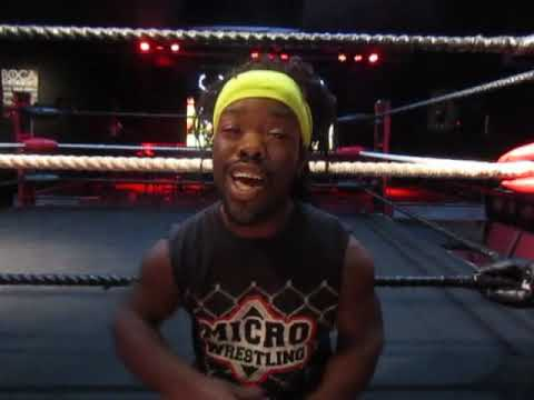 (Part 1) Interview with Jamaican Joe of Micro Wrestling Federation at Boca Black Box South Florida