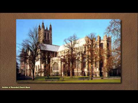 BBC Choral Evensong: Canterbury Cathedral 1965 (Allan Wicks)