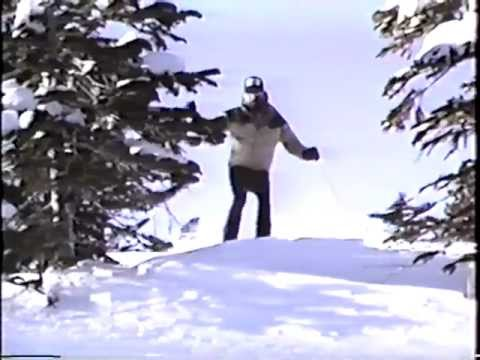 Scott Woodworth Skiing at Kirkwood 1990 - Cream Medley by JBL