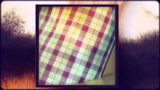 Colorful Plaid Day Bed Covers