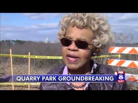 Quarry Park ground breaking in Winston-Salem