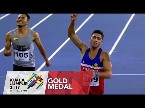 Athletics Men's 200m Finals of  29th SEA Games 2017