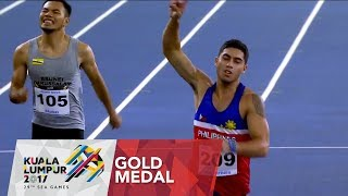 Athletics Men's 200m Finals of  29th SEA Games 2017