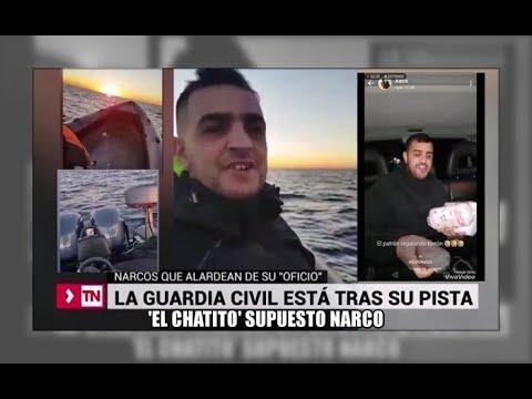 El presunto narco ceutí 'El Chatito' alardea de ello