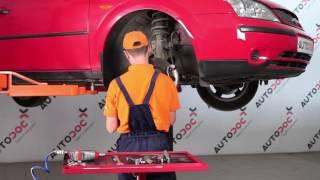 Peržiūrėkite vaizdo įrašo vadovą, kaip pakeisti FORD MONDEO III Saloon (B4Y) Variklio montavimo rėmas