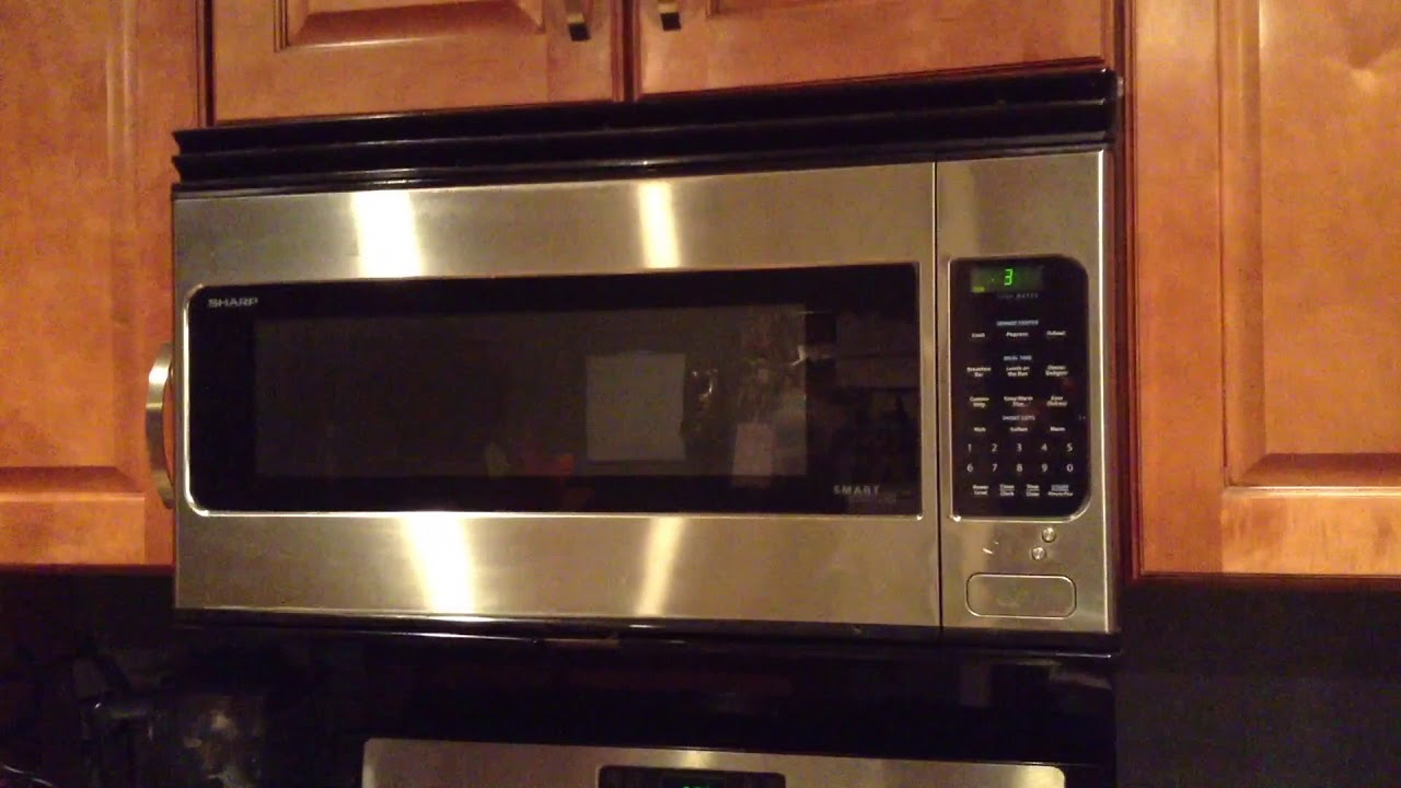 Sharp Smart Carousel Mounted Microwave (2016)