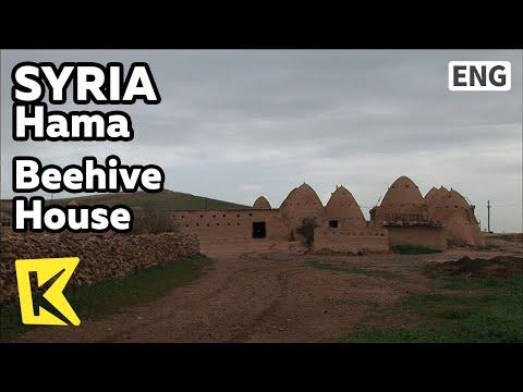 【K】Syria Travel-Hama[시리아 여행-하마]진흙으로 지은 벌집 마을/Beehive House/House/Room/Bedouin