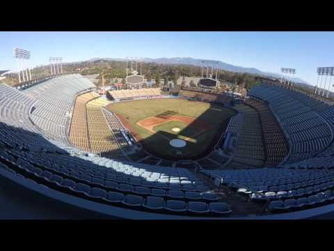 Visit to Dodgers Stadium