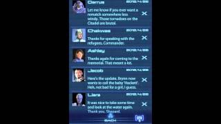 Mass Effect 3 Datapad App Messages