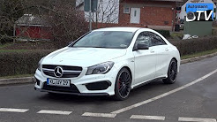 2014 Mercedes CLA 45 AMG (360hp) - DRIVE & SOUND (1080p)