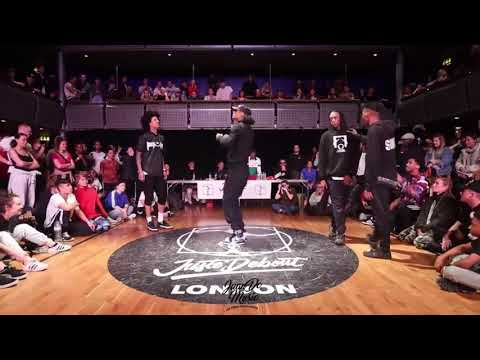 LES TWINS Vs SHIN & ICE | HIP HOP SEMI FINAL (Clear Audio) | JUSTE DEBOUT UK 2019