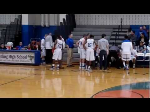 Deptford High School vs Sterling High School Boy's Basketball Part2 (2/25/13)