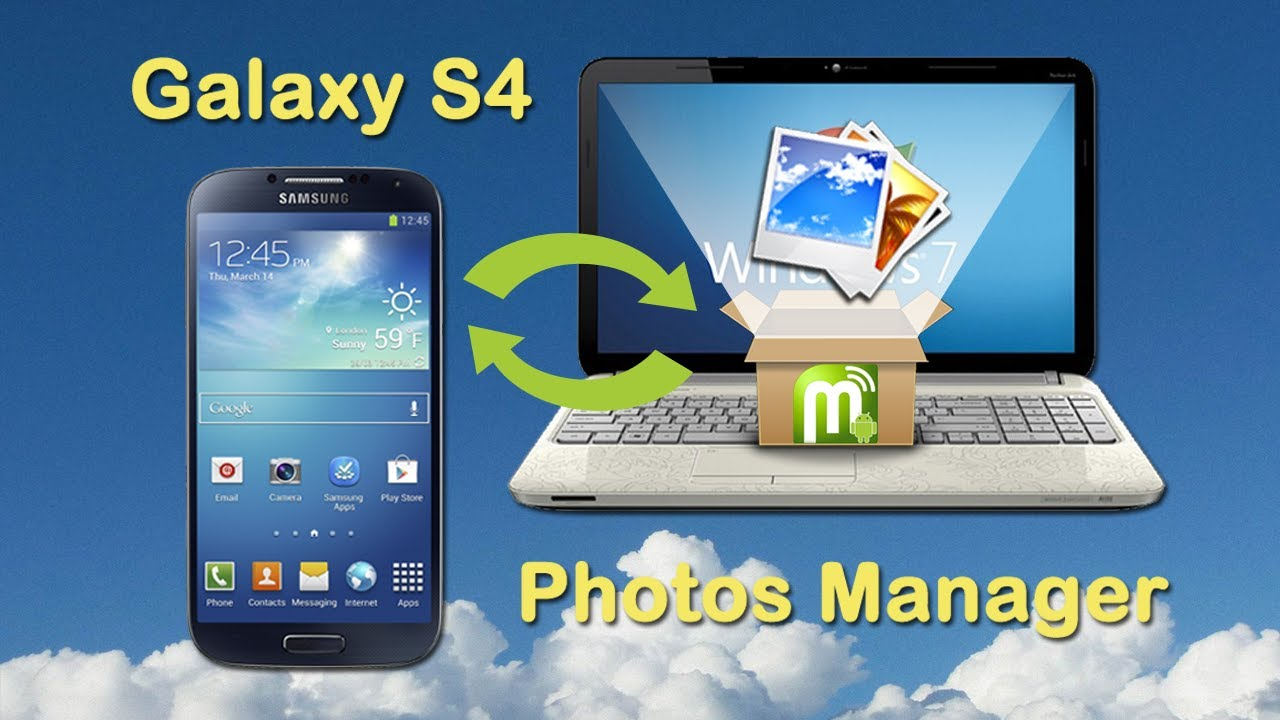 Samsung Galaxy S4: Transfer Photos from Samsung S4 to PC ...