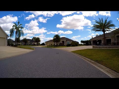 Driving tour of Cedar Grove Loop in The Villages Florida