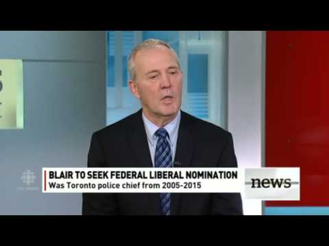 CBC to Bill Blair How do you feel about legalizing marijuana?