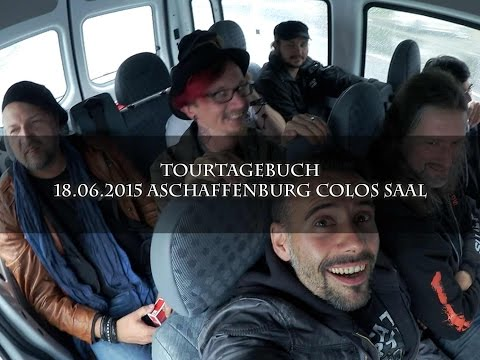 Video Tourtagebuch - Aschaffenburg, Colos Saal (18.06.2015)