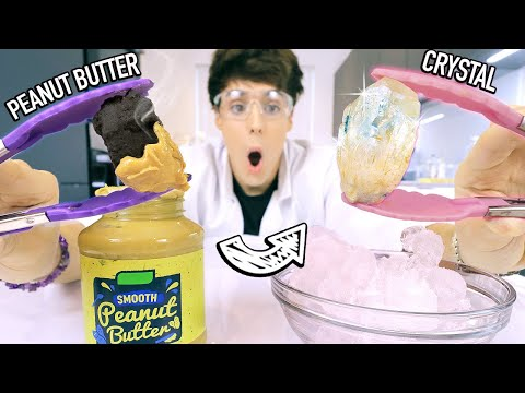 i tested SCIENCE EXPERIMENTS using food items