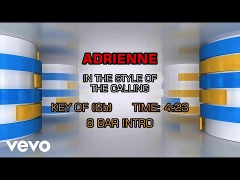 The Calling - Adrienne (Karaoke)