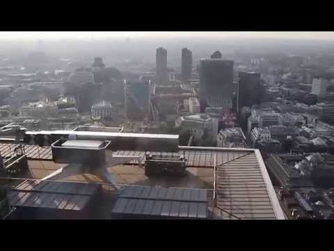 Ascending Heron Tower to Duck & Waffle